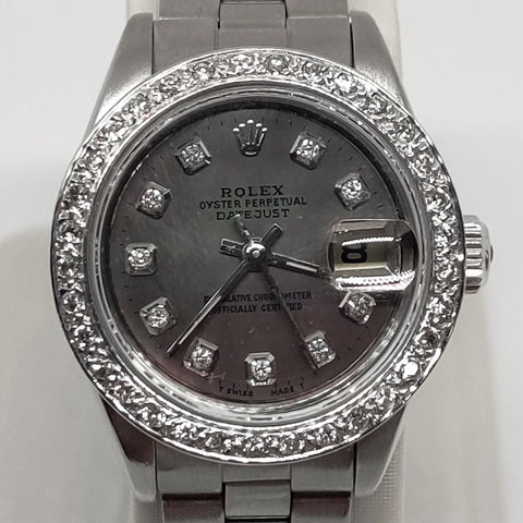 Lady Oyster Datejust Diamond Rolex
