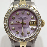 Pink Mother of Pearl Rolex