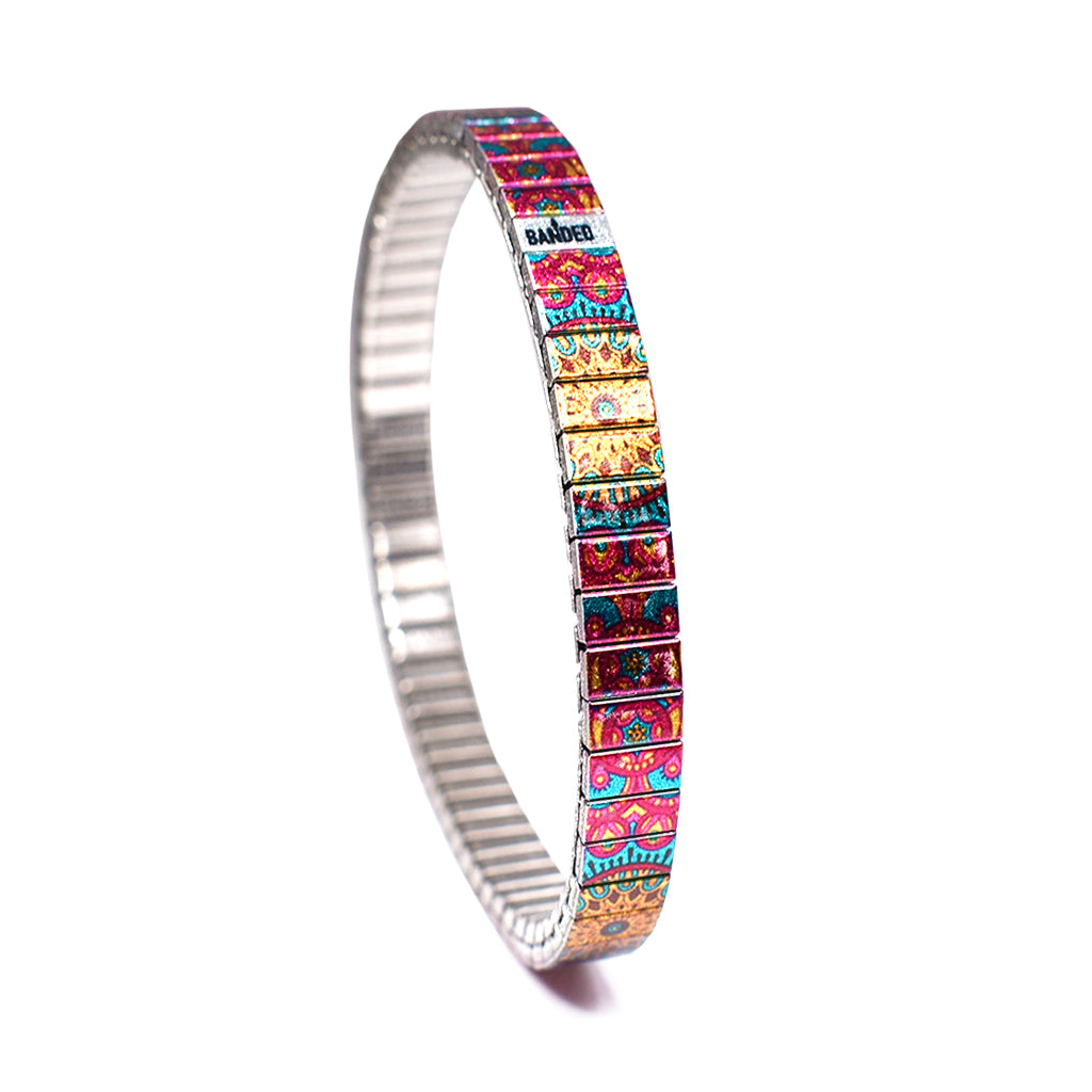 Alicante Sunset Metallic 6mm by Banded Bracelets