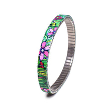 Lade das Bild in den Galerie-Viewer, Squiggle Flower Pop Slim- Jungle 6mm Ultra Slim