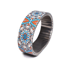 Lade das Bild in den Galerie-Viewer, Mediterranean tile- St.tropez 23mm by Banded Berlin Bracelets fall 2020