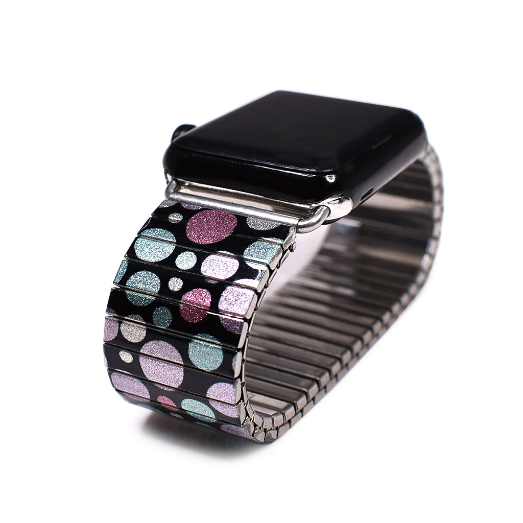 Le Bubbs Morroc - Metallic- Applewatch band by Banded berlin Bracelets made in Berlin Germany
