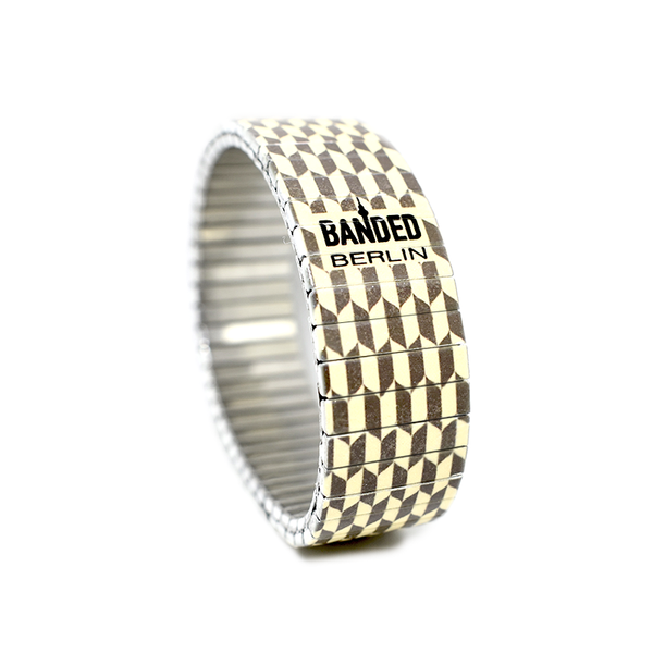 Checkered Pastime style by Banded-Berlin Bracelets