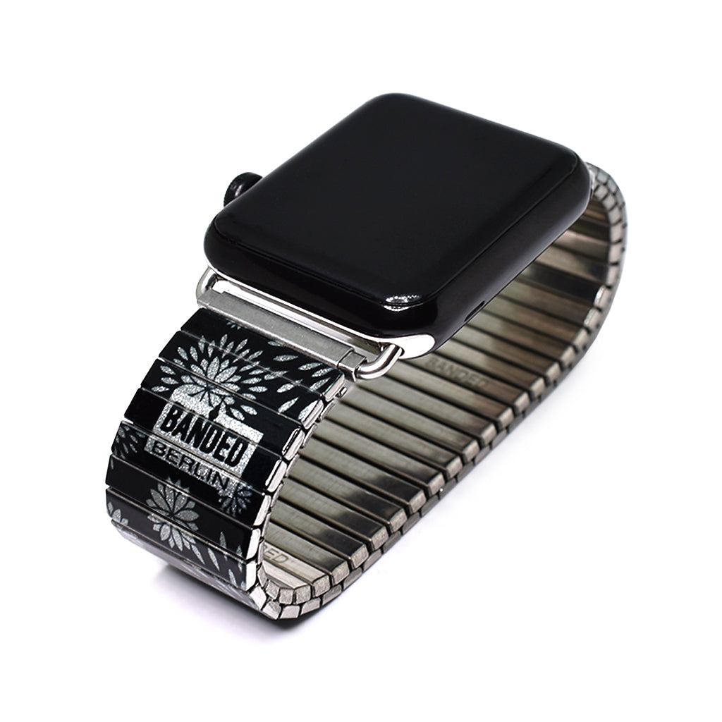 Flora Pop Silver - Apple watch band 2021