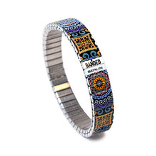 Lade das Bild in den Galerie-Viewer, Gaudi's Footsteps - Saffron Slim by Banded Berlin Bracelets