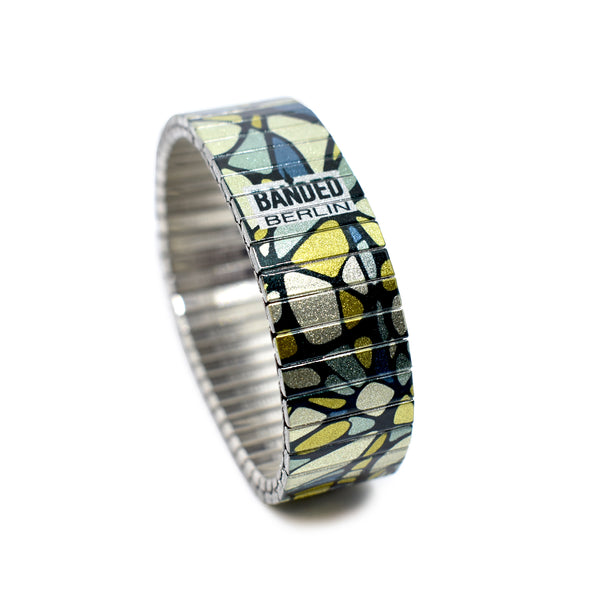 Geologics- Peridot - Metallic by Banded Berlin for Spring 2020