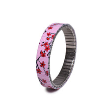 Lade das Bild in den Galerie-Viewer, Banded Berlin 10mm Slim Collection For Fall 2019/2020.    Banded Berlin 10mm Slim Collection For Fall 2019/2020. A slim Version of our Japanese inspired cherry blossom design.