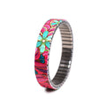 Squiggle-Pop Slim- Raspberry Dream by Banded Berlin bracelets © 2020, banded berlin