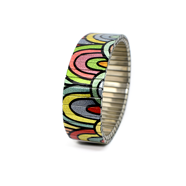 Metallic MoonBow- Rainbow by Banded-berlin Bracelets 2020