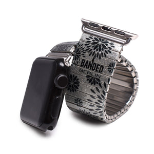 Banded Berlin's silver Pedals Applewatch © 2020, banded berlin