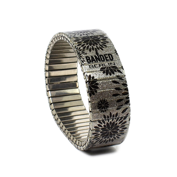 Silver Pedals by Banded-Berlin Bracelets