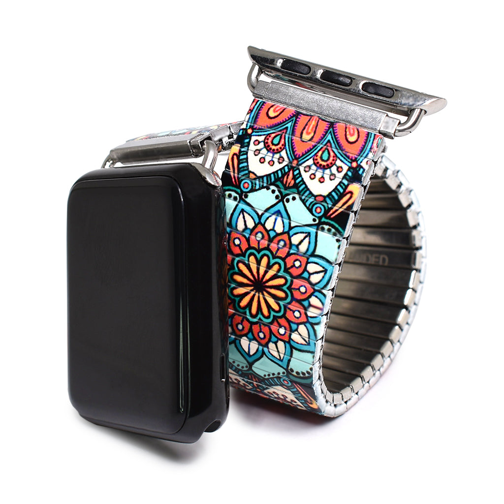 Tulum Alata - Passiflora Banded for Apple Watch - Classic Finish