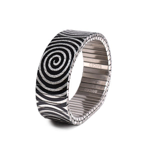 Twilight Zone Metallic 23mm by Banded-berlin bracelets - made in Germany