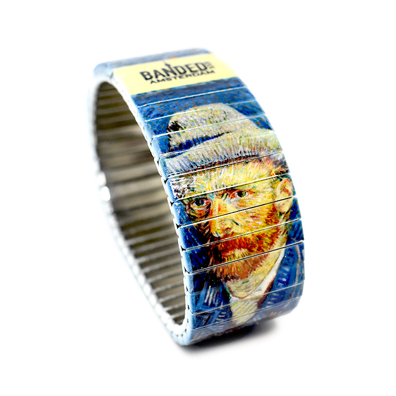 Self Portrait by Van Gogh for the Banded Amsterdam Iconic Artist series