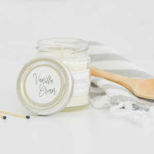 Vanilla Cream 4 oz candle