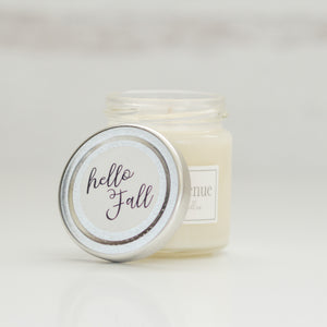 Hello Fall 4 oz candle