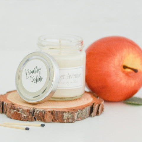 Country Pickins 4 oz candle