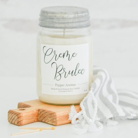 Creme Brulee 16 oz candle