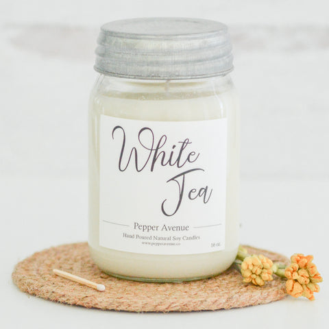 White Tea 16 oz candle