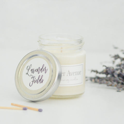 Lavender Fields 4 oz candle
