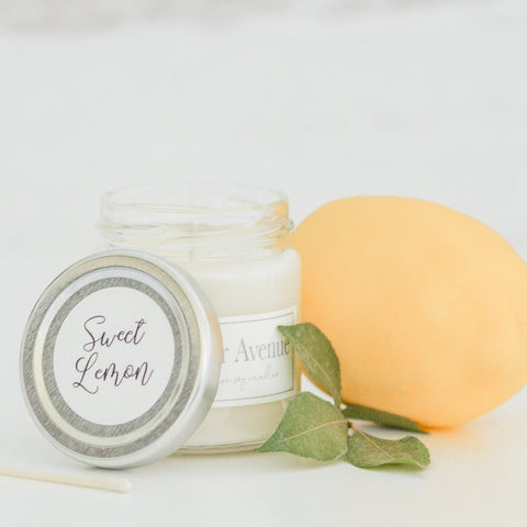 Sweet Lemon 4 oz candle