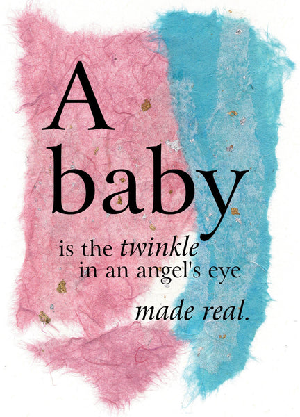 BB01 A Baby (Pack of 6 cards)