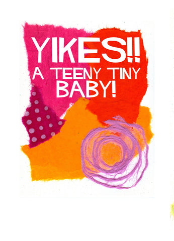 BB03 Baby Yikes (Pack of 6 cards)