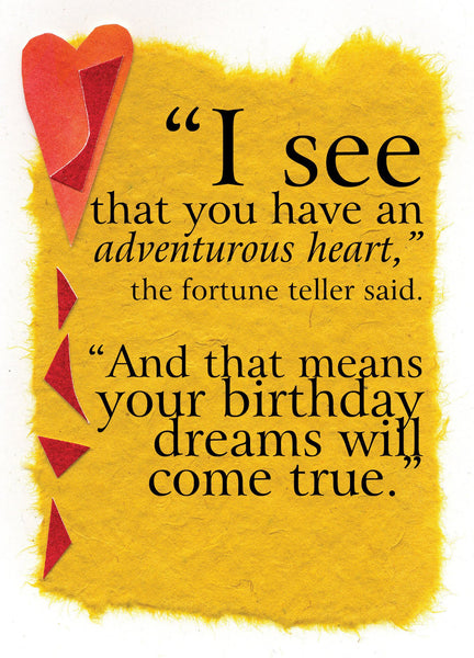 BD100 Adventurous Heart (Pack of 6 cards)