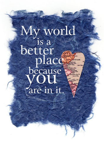 L531 My World (Pack of 6 cards)