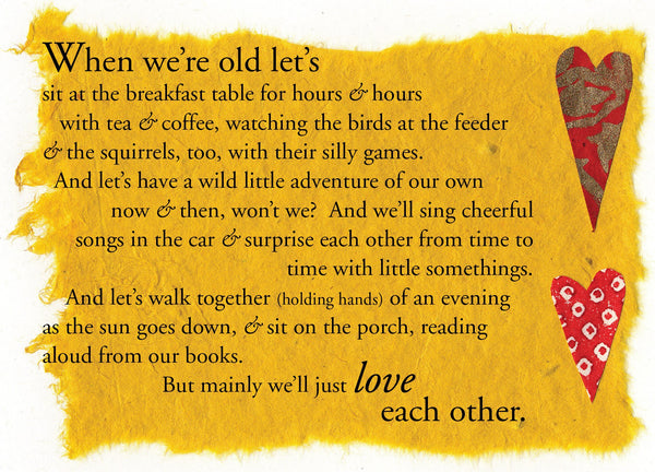 L555 When We're Old (Pack of 6 cards)