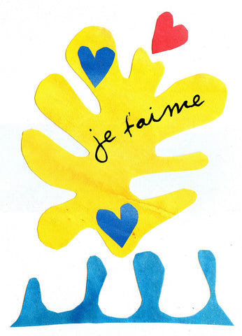 L570 Je t'aime (Pack of 6 cards)
