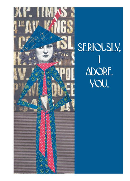 L574 Seriously (Pack of 6 cards)