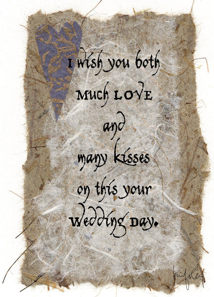 M606 Love & Kisses (Pack of 6 cards)