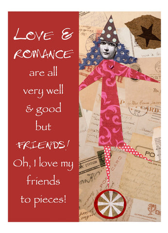 NM893 Love & Romance (Pack of 6 cards)