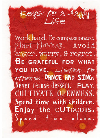 NM894 Keys To Life (Pack of 6 cards)