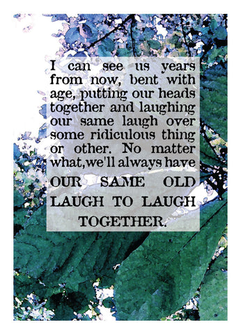 NM919 Same Old Laugh (Pack of 6 cards)