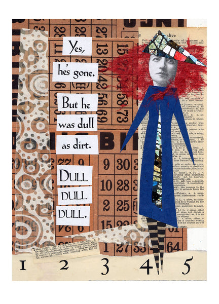 NM933 Dull as Dirt (Pack of 6 cards)