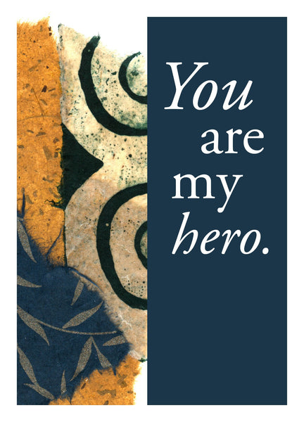 NM961 My Hero (Pack of 6 cards)