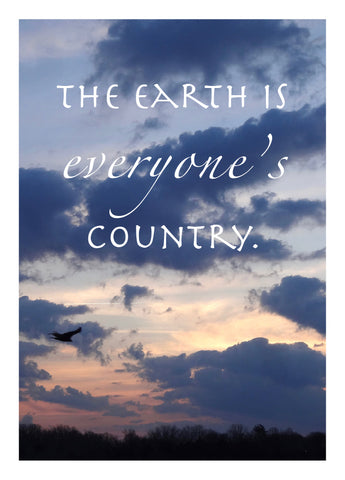 NM976 Everyone's Country (pack of 6 cards)