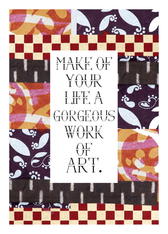 NM979 Work of Art (Pack of 6 cards)