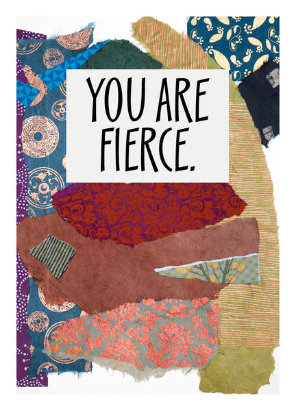NM980 Fierce (Pack of 6 cards)