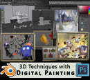 Using 3D Techniques with Digital Painting Workshop - Marco Bucci Art Store