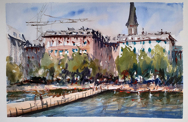 Copenhagen - Watercolour