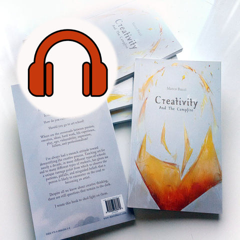 Audiobook - Creativity And The Campfire Book - Marco Bucci Art Store