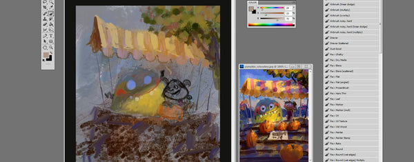 Digital Painting 2 Workshop - Marco Bucci Art Store