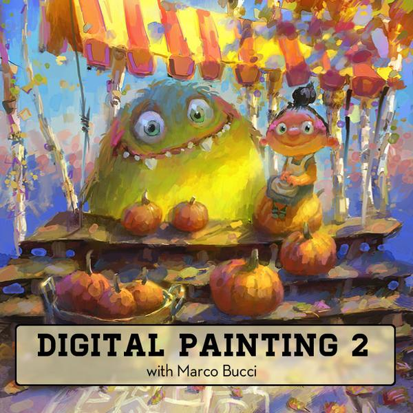 Full Digital Painting Package Workshop - Marco Bucci Art Store