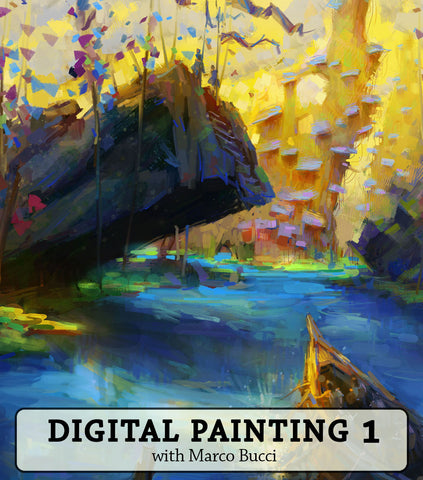Digital Painting 1 Workshop - Marco Bucci Art Store