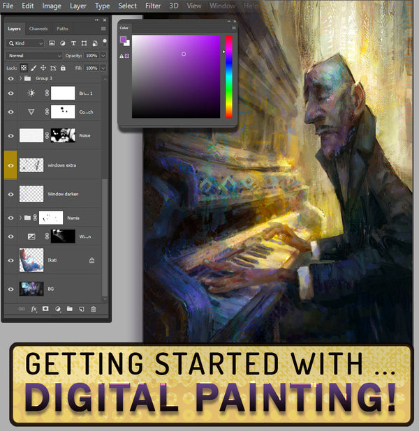 Getting Started with Digital Painting