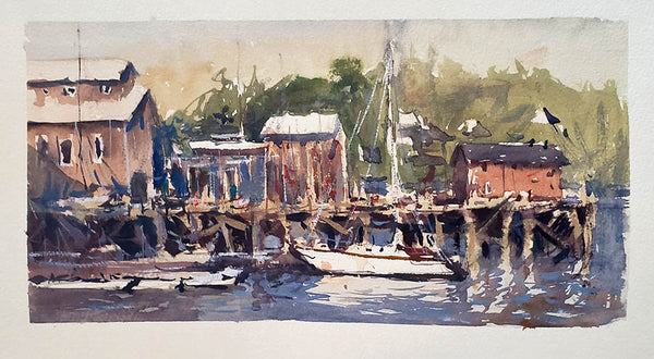 Lunenburg - Watercolour