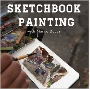Video Workshop Series - 'Sketchbook Painting' - Marco Bucci Art Store